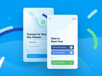 CleanCloud | Enter screens