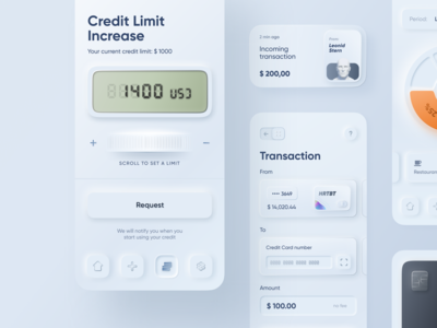 Skeuomorph Mobile Banking | Continuation