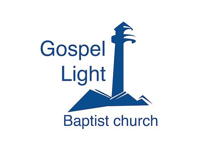Gospel Light Baptist Church lighthouse church logo