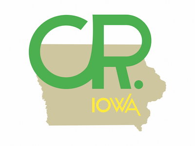 CR Logo rebrand logo city cedar rapids