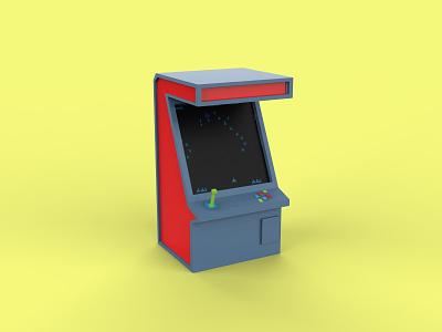 Arcade Cabinet game arcade cabinet 3d models