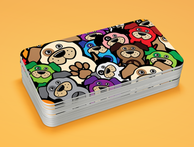 Play and Paws Business Card 2014