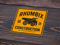 Rhumbix Tonka Sticker