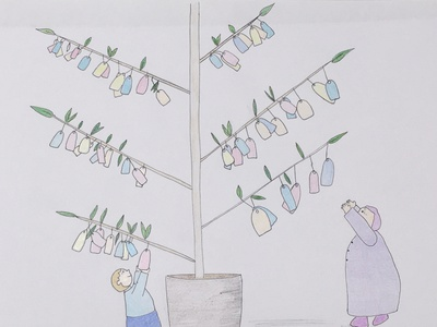 Tanabata illustrator illustration