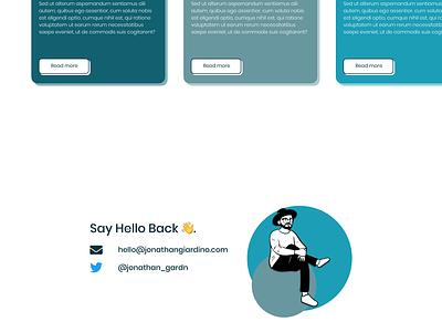 Portfolio Design (3) ui portfolio app sketchapp sketch portfolio website portfolio site minimal portfolio design design