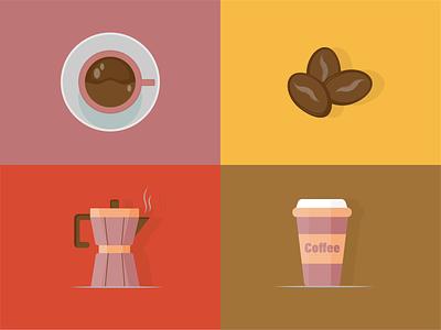 Coffee vector illustration design adobe graphic design coffee