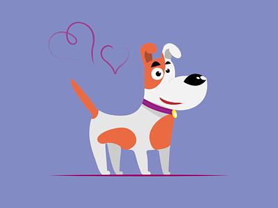 Dog vectorillustration vector illustration graphic design design adobe dog