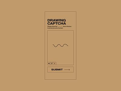 30 Days of Art: (19) CAPTCHA simple test drawing doodle draw brutalist brutalism verification captcha illustrator adobe illustrator adobe design ui design ui