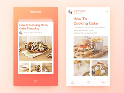 Here180-Cook website best colors flat serenity web ux food pc cook eat ui