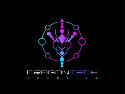 dragontech logoproject logomaker logodesign logobranding design logo