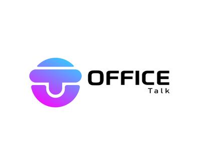 office talk icon illustration branding logoproject logomaker logodesign logobranding logo design