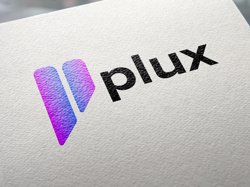 plux logo design logoproject logo software softwaretech software branding logodesign logobranding logo design