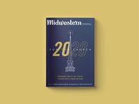 """2020"" Magazine Cover magazine design cover design christian bible gospel for the church 2020 magazine"