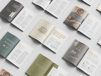 Magazine Spreads (Midwestern Magazine) christianity layout christian gospel magazine spreads magazine
