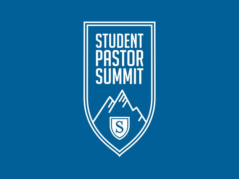 Student Pastor Summit Logo church mountains student summit pastor logo