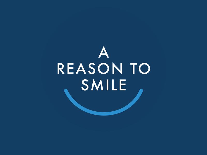 A Reason To  Smile logo smile