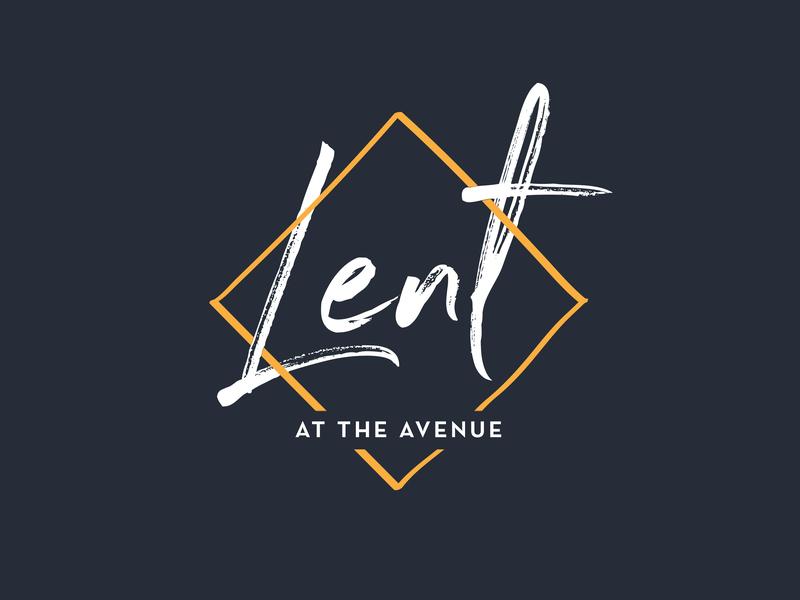 Lent Season Graphic Series church branding sermon series church lent
