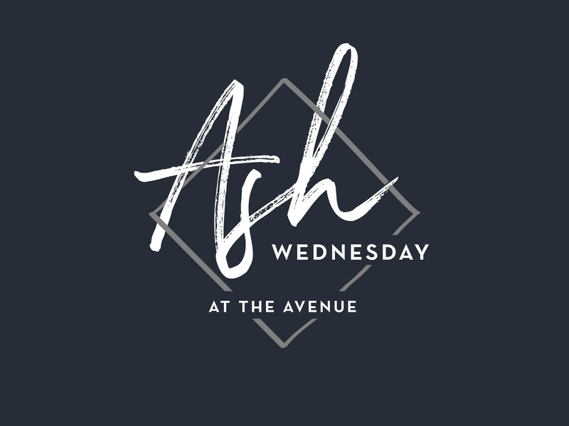 Ash Wednesday church branding church lent