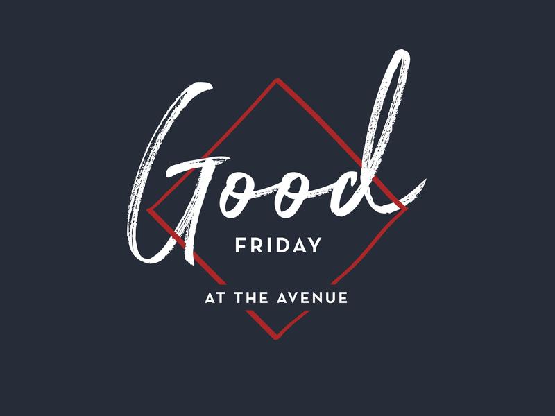 Good Friday church branding church good friday lent