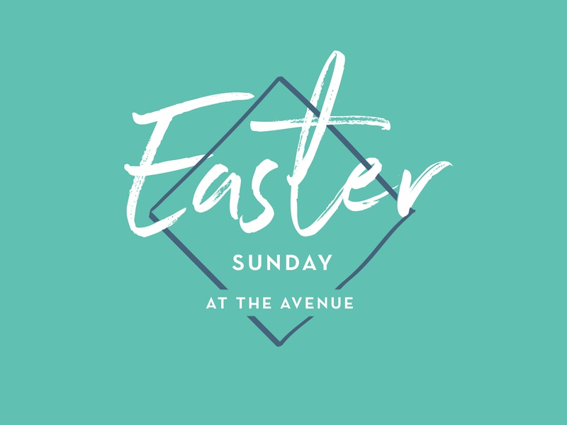 Easter church branding church easter lent
