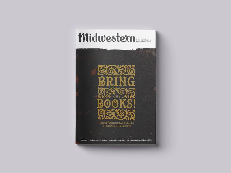 Bring The Books! Magazine Cover doctoral seminary gospel books magazine