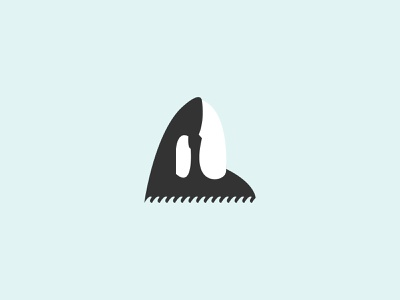Orca animal logo animal natural graphic design illustration vector logo flat design branding