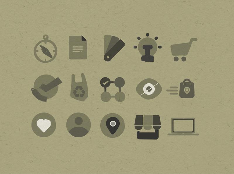 Icons shopping design icon vector