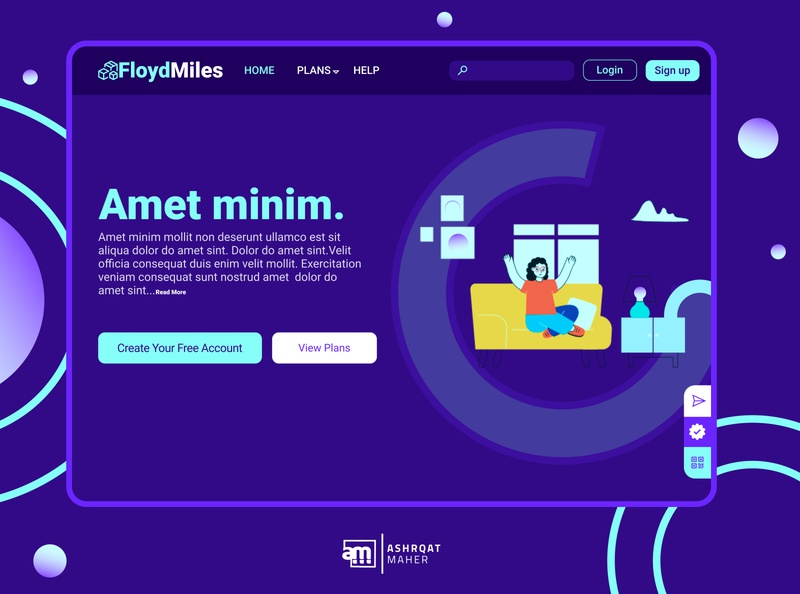 Landing Page purple user interface interface userinterface daily daily ui dailyui ui ux ui design uidesign ui  ux uiux ux inspire ui logo inspiration illustrator creative design