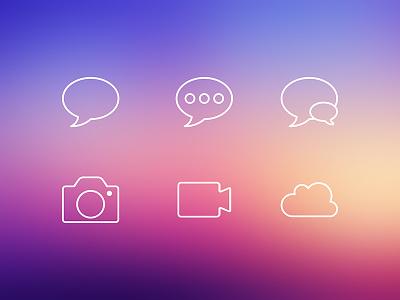 iOS7 Icons ios7 ios7 icons icon thin