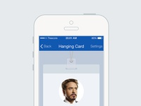 iPhone Card App