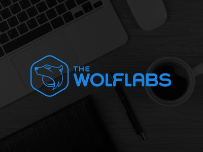 The Wolflabs Logo thewolflabs logo logo design