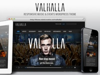 Valhalla Wordpress Theme