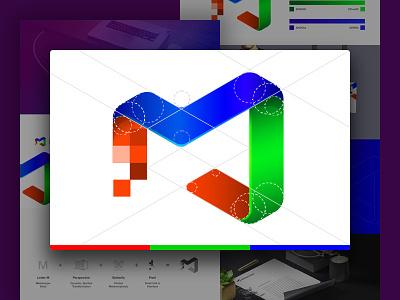 Metamorpix Logo Concept identity landing page landing rgb pixel metamorphosis colorful branding brand logo concept logo design logo