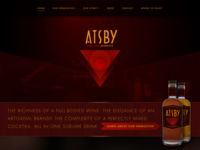 Atsby Vermouth Website
