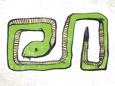 Snake dribbble
