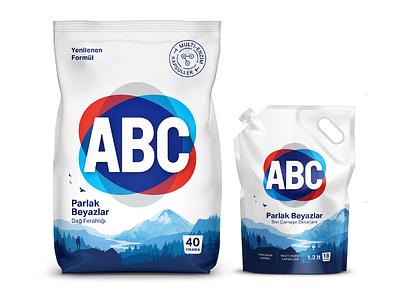 Avantgarde rebranding for today's laundry vector logo illustration identity design packagedesign typography logotype branding rebranding detergent abc packaging