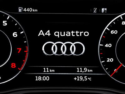 Audi tpography update ux ui branding typography