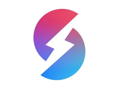 Monogram Blue monogram logotype icon identity letter letterform logo type typography mark symbol s