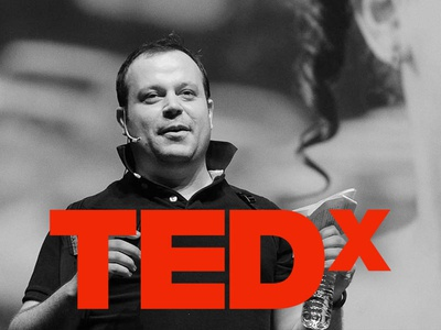 the english subtitle of my TEDx talk subtitle video talk tedx font design typography