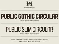 Public Slim Circular