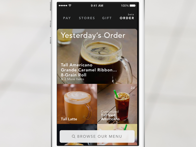 Mobile Order & Pay - Starbucks ios starbucks order coffee