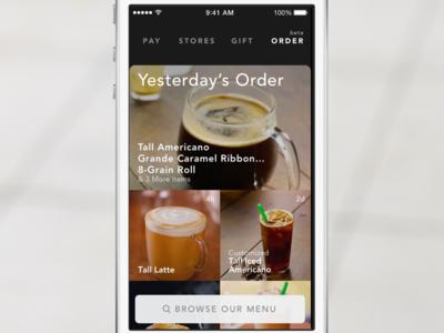 Mobile Order & Pay - Starbucks