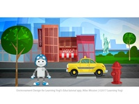 Environment design for educational app