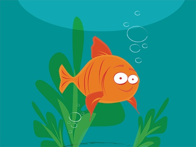 Melville the Goldfish