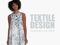 Dalmation A-Line Dress