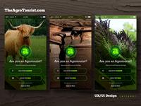 UX/UI Design - TheAgrotourist.com