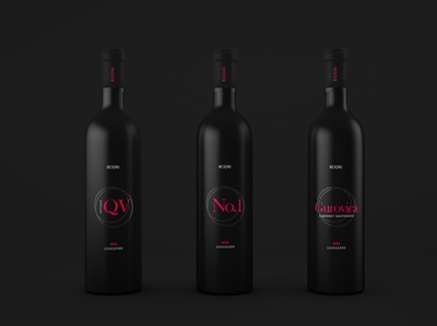 Wine label design minimal package design design branding