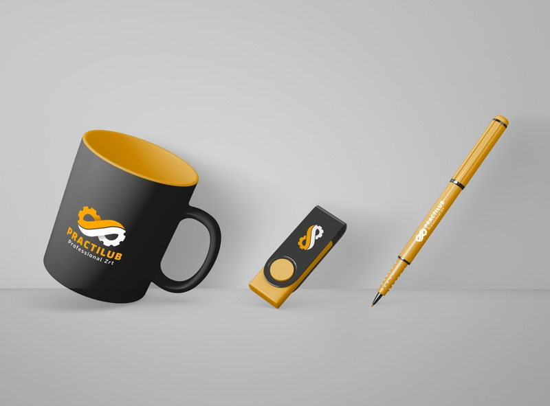 Logo and branding redesign dark ui minimal logo branding vector design