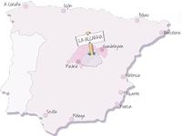 Alcarria Map