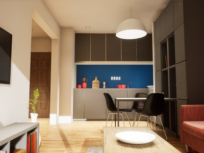 One-bedroom Apartament | visualization #06 unreal engine 4 interior architecture archvis architecture architectural visualization